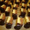 Saftige Nuss-Würfel mit Schokolade