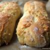 Herzhaftes für den Osterbrunch: frisches Grieß-Baguette