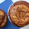 Trotz Hitze: mächtige Schoko-Peanutbutter-Muffins nach Martha Stewart