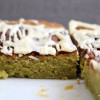 Blondies mit Matcha oder auch: süß-saftige Greenies