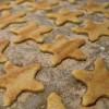 Zucker-Zimt-Sterne mit Marzipan