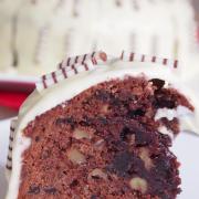 Doppelt Schokolade hält besser: Brownie-Torte