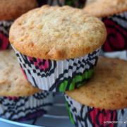 Cremig-leckere Walnuss-Muffins mit griechischem Sahnejoghurt (statt: Blaubeerkuchen)