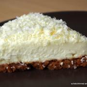 Sommer-Romanze: Ich back' mir... einen cremig-kühlen White Chocolate Cheesecake