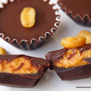 Ich lade ein... zu sahnigen Schokoladen-Erdnussbutter-Trüffeln [Buchrezension]