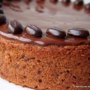 Dunkler Schoko-Apfel-Kuchen mit Lieblingskuchenpotential