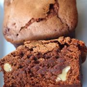 Ich back' mir zum Jahresende... Walnuss-Zimt-Brownies in einer vermeintlich sinnlosen Backform