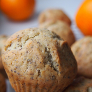 Fingerfood fürs erste Frühlingspicknick: Orangen-Mohn-Muffins