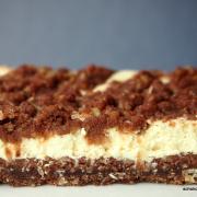 Schokostreusel-Orangen-Cheesecake (cremig und crunchy zugleich)