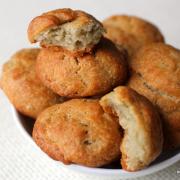 Da duftet die Bude: Gorgonzola-Kekse (Cheese Biscuits)