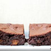 Weihnachten kann kommen: fudgy Spekulatius-Brownies