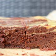 Wenn Butter in der Mikrowelle explodiert: Kürbis-Cheesecake-Brownies