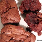 Superschokoladige Brownie-Muffins [Kuchen-Fingerfood]