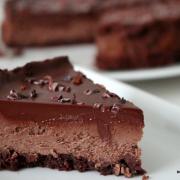 Große Schoko-Liebe: Triple Chocolate Cheesecake [mindestens]