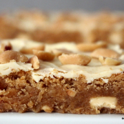 Erdnussbutter-Blondies [süß | salzig | mächtig]