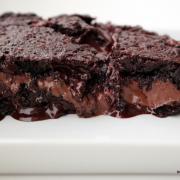 Nutella-stuffed Brownies [kurz: Schokolade überall]