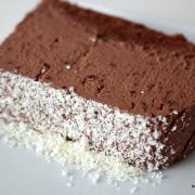 Dessert geht immer: cremiges Schokoladen-Pavé