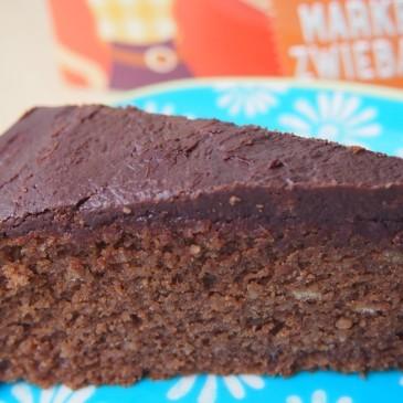 Triester Torte (oder einfach: saftiger Schoko-Zwieback-Kuchen)
